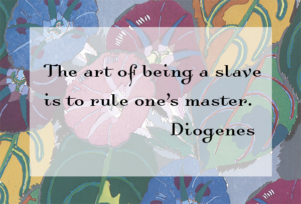 art of being a slave diogenes